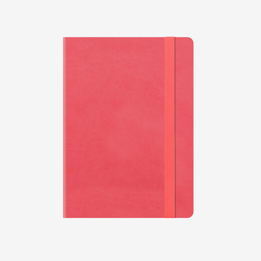 Small Weekly Diary 12 Month 2020 - Neon Coral
