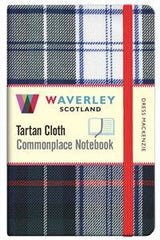 Tartan Cloth Notebook - Dress Mackenzie