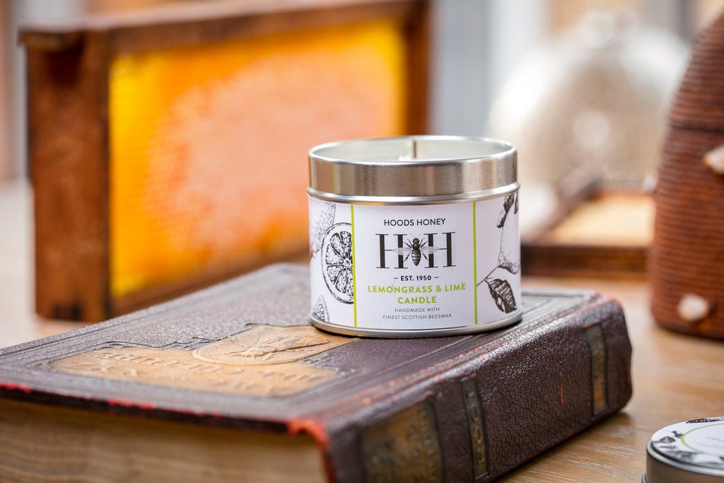 Lemongrass & Lime Beeswax Candle