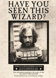 Sirius Black Harry Potter Card
