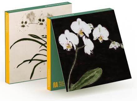 Elizabeth Blackadder Orchids Notecard Wallet