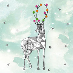 Matthew Williamson Reindeer Pack of 5 Cards