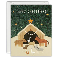 Animal Nativity Mini Pack of 5 Cards