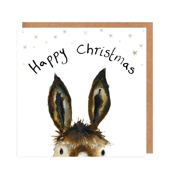 Trevor Happy Christmas Card by Catherine Rayner