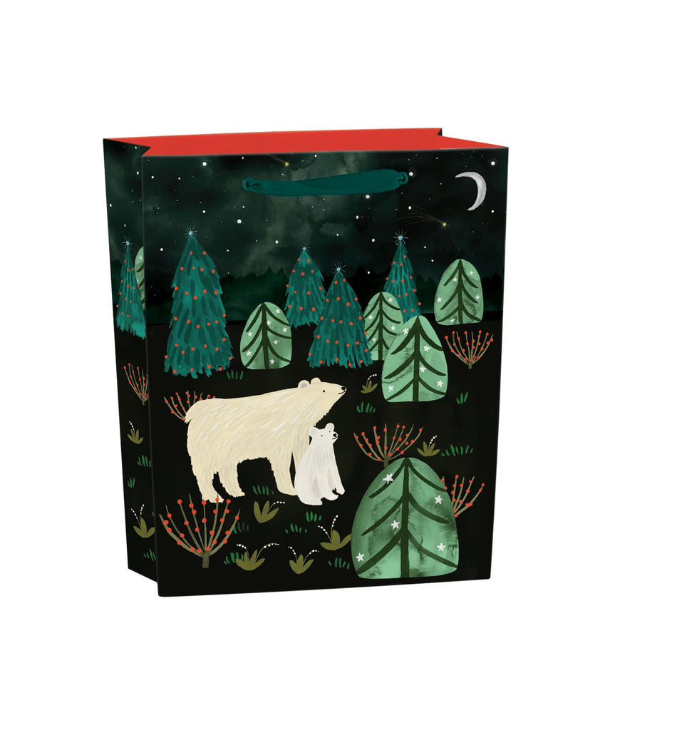 Polar Bear Medium Gift Bag