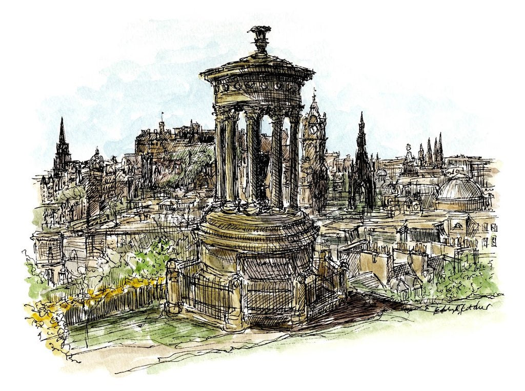 Moleskine Sketching Workshop with Edinburgh Sketcher - 19th April 2.30pm