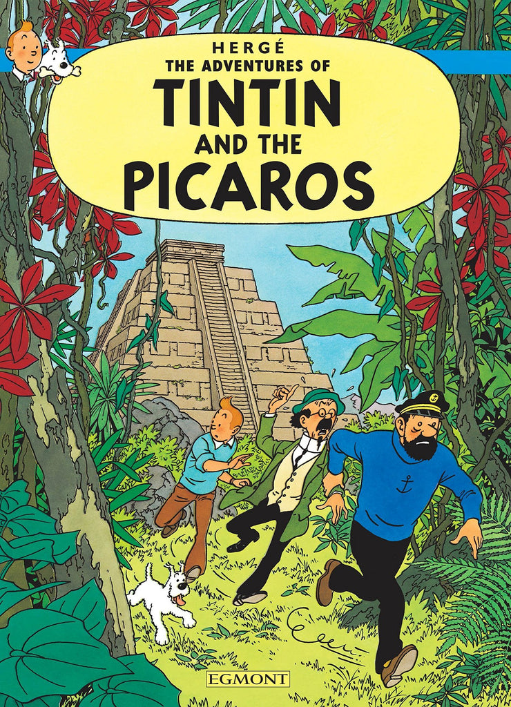 Tintin and the Picaros Postcard