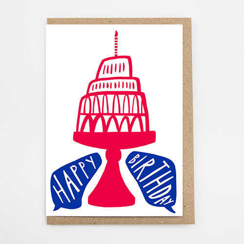 Big Cake Birthday Card