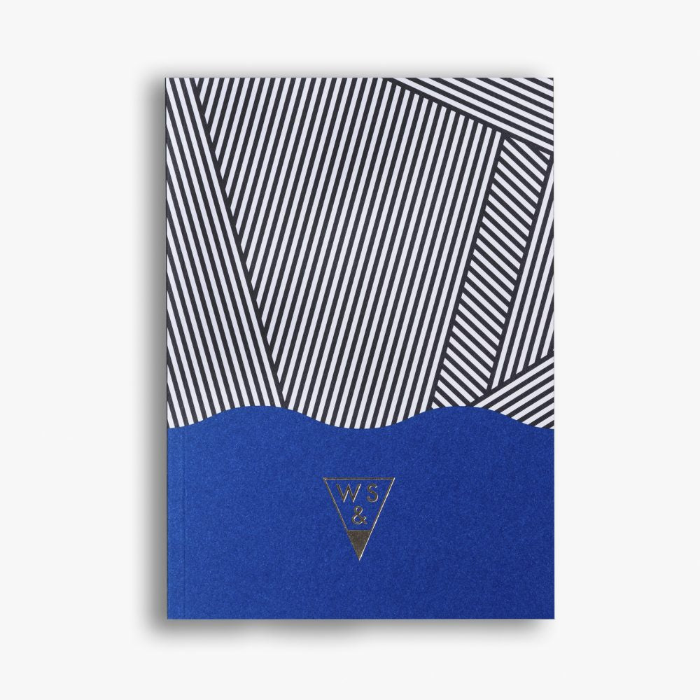 Super! Stripes A5 Notebook