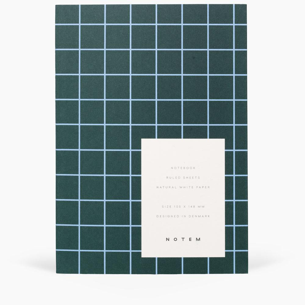 Uma Small Flatlay Notebook Dark Green