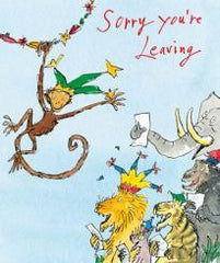 Sorry You're Leaving Quentin Blake Card