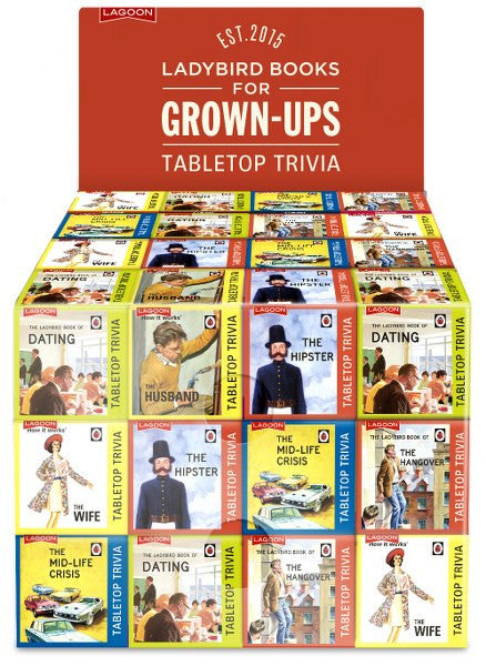 Ladybird For Grown-Ups Tabletop: The Hipster