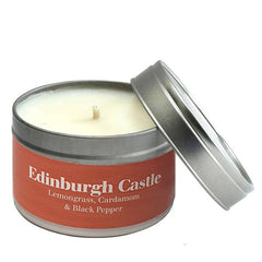 Paper Tiger Edinburgh Castle Lemongrass, Cardamom & Black Pepper Small Candle Tin