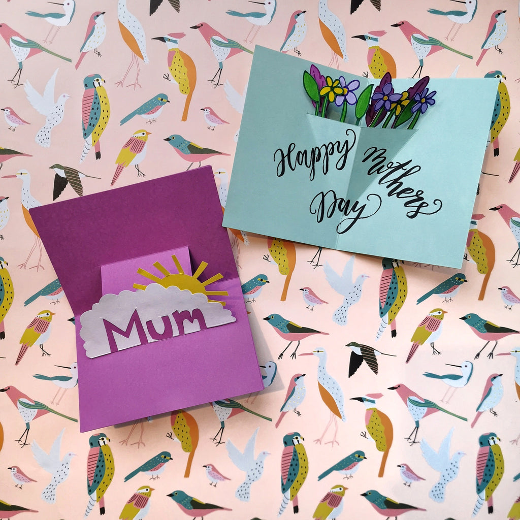 Mother's Day Pop Up Card Workshop - 15th March 1.30pm