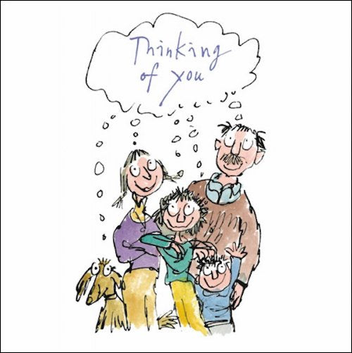 Thinking of You Quentin Blake Card