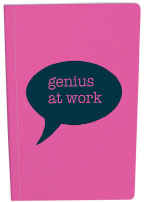 A5 Genius at Work Notebook