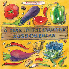 Matthew Rice A Year in The Country Wall Calendar 2020