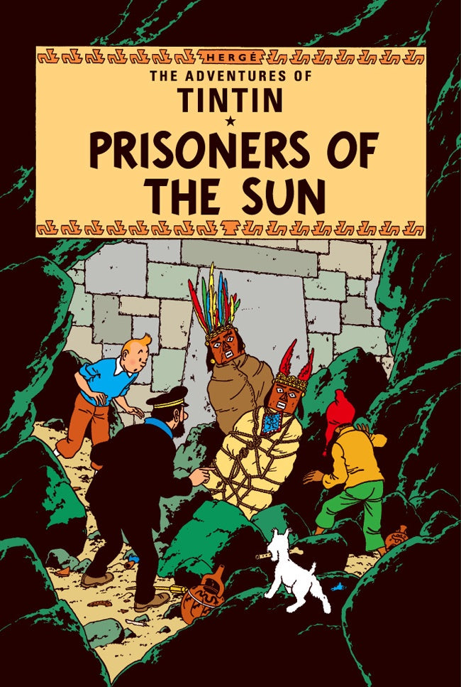 The Prisoners of the Sun Tintin Postcard