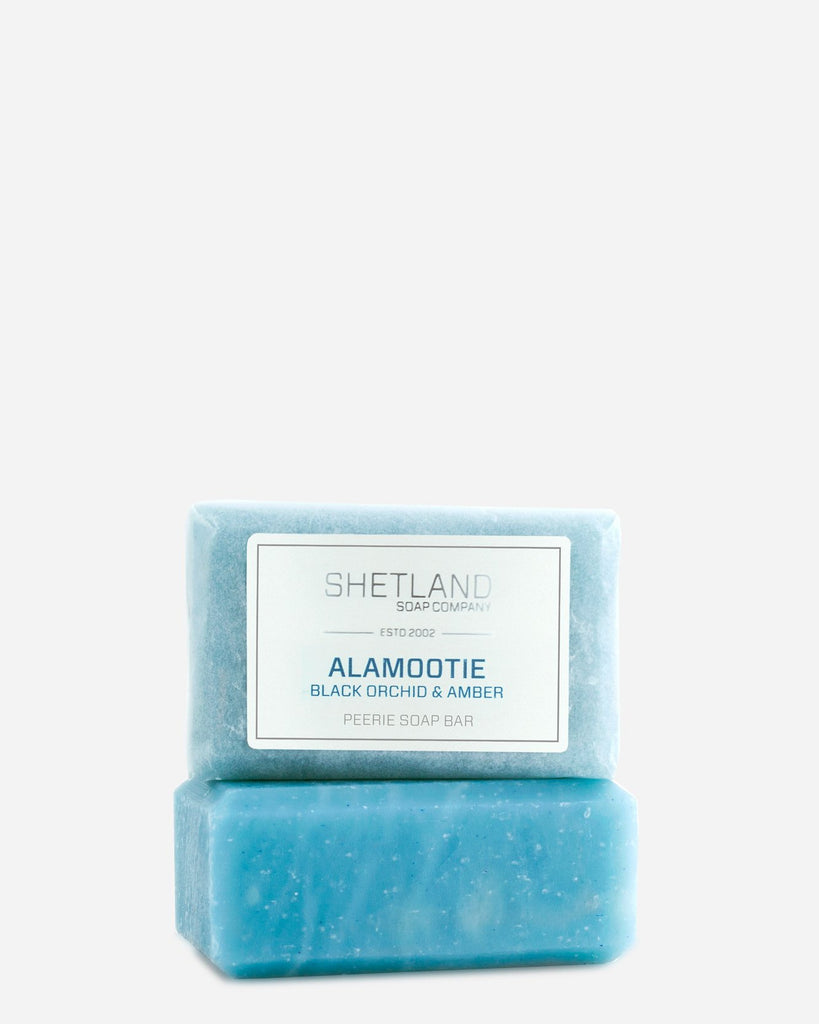 Alamootie Black Orchid and Amber Soap Bar