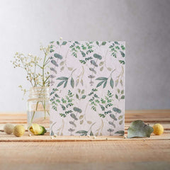 Ferns & Eucalyptus Seed Card