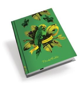 Frida Kahlo Green Parrot A6 Notebook