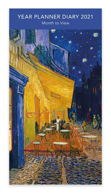 V&A Cafe Terrace at Night Year Planner 2021
