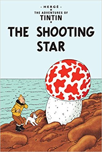 The Shooting Star Tintin Postcard