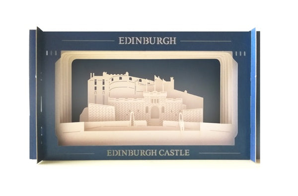 Edinburgh Castle Pop-up Card