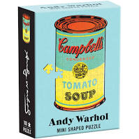Andy Warhol Mini Puzzle Campbell