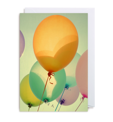 Optimism Balloons Card