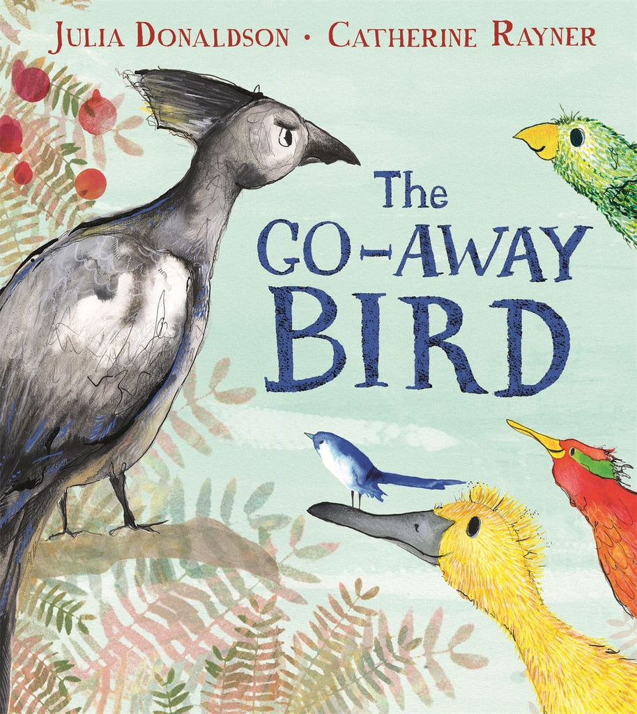 The Go Away Bird by Julia Donaldson & Catherine Rayner (Paperback Edition)