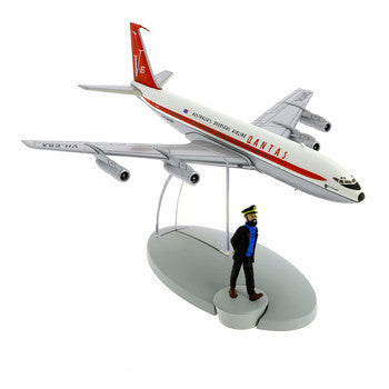 Captain Haddock and the Quantas Airplane
