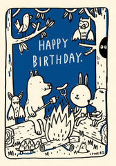 Animals Birthday Campfire
