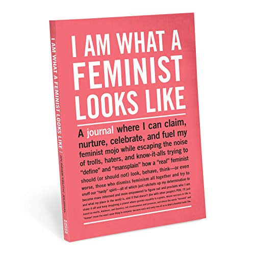 I Am What A Feminist Looks Like Notebook