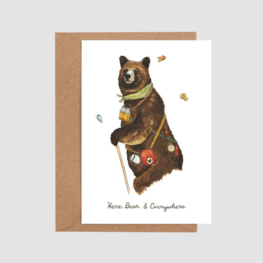 Here, Bear & Everywhere Card