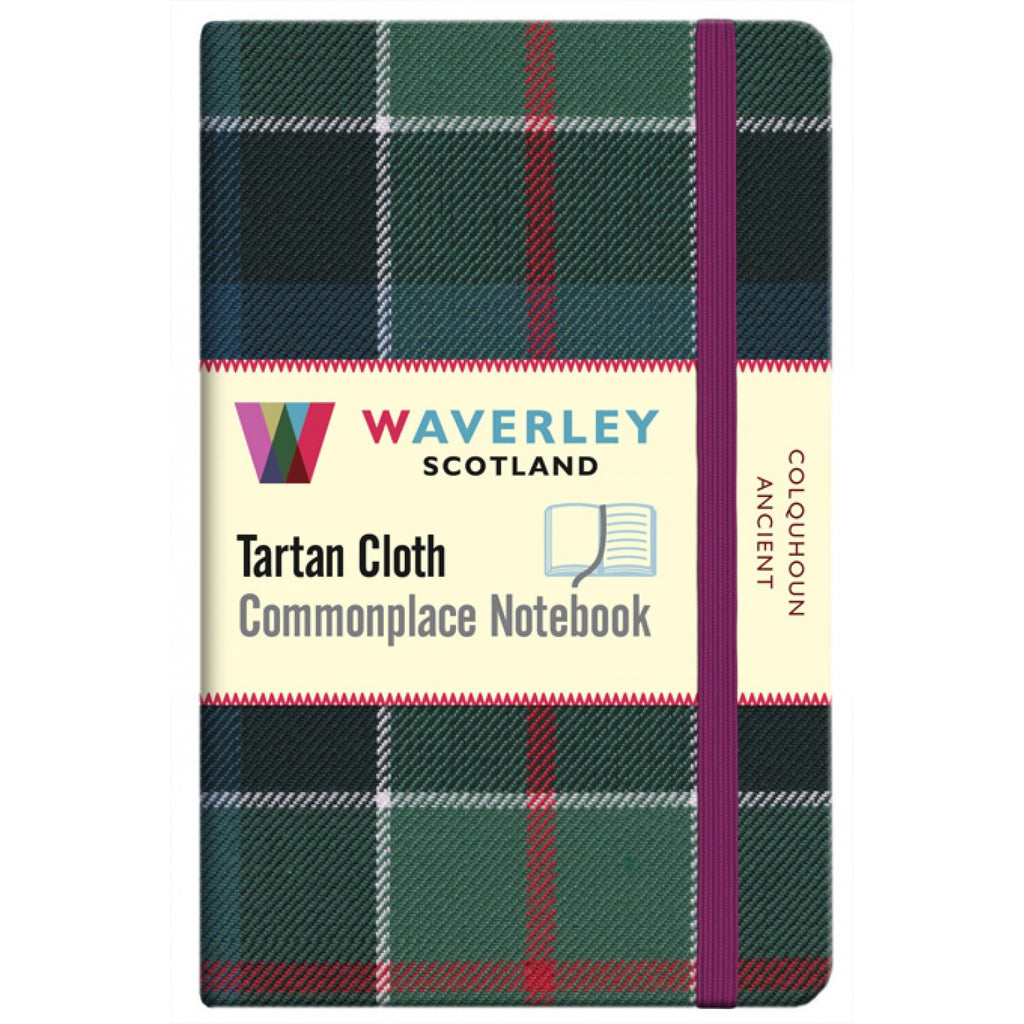 Tartan Cloth Notebook - Colquhoun Ancient