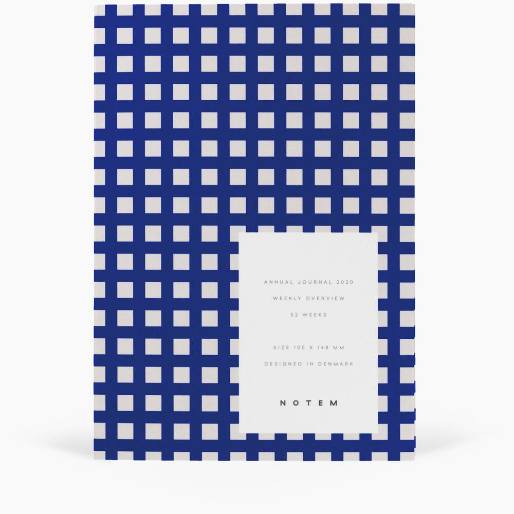 Alva Annual Journal 2020 A6 Indigo by Notem