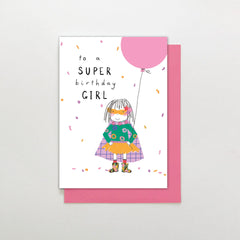 Super Birthday Girl Card