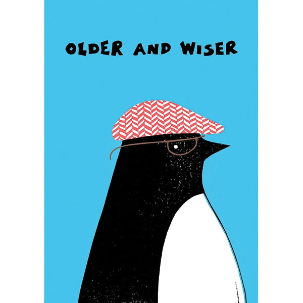 Morag Hood When Grandad was a Penguin Birthday Card