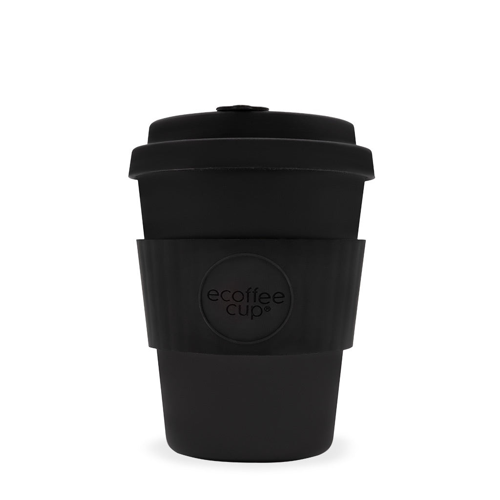 Ecoffee Cup Black Kerr & Napier 12oz