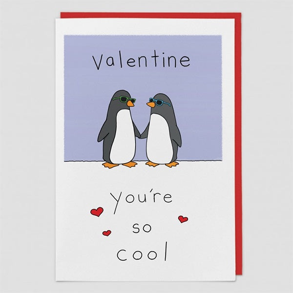 So Cool Valentine's Day Card by Liz Climo