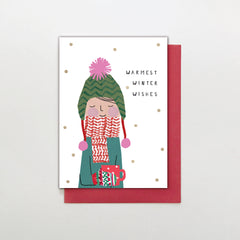 Warmest Winter Wishes Christmas Card