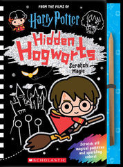 Harry Potter Hidden Hogwarts Scratch Magic Book