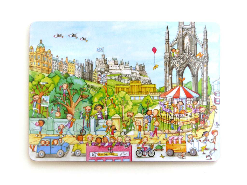 A View from Waverley Bridge Gingerpaws Placemat