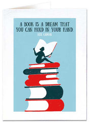 A Book Is A Dream Card