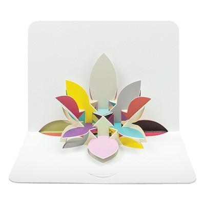 3D Flower Pop-Up Card