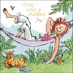 Mum, Relax on Mother's Day Quentin Blake Card