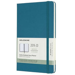 Moleskine 2019/20 Magnetic Green Academic Diary