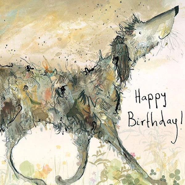 Smelly Louie Happy Birthday Card by Catherine Rayner