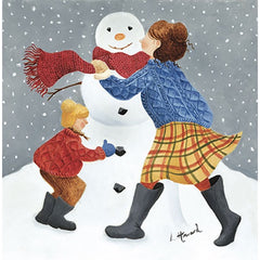 Snowman Fun Pack of 5 Christmas Cards